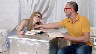 She Is Nerdy - Nerdy Sex Dream