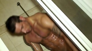 Ripped Straighty Drenched In Creamy Cum
