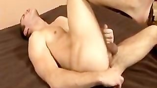 Sweet College Gay With Dildo