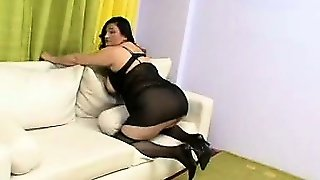 Busty Mature In Lingerie Gets Tapped