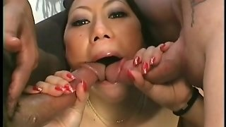Threesome Hard Asia Fuck