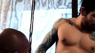 Gayblack African Hunk Fucks Ass After Bj