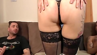 Italian Wife Mary Double Teamed