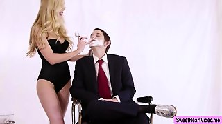 Blonde Kayden Reponds With Aggression