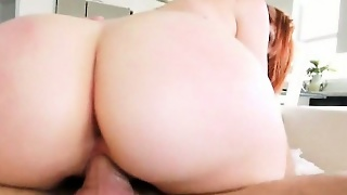 Red Haired Teen Rainia Belle Screwed Up Real Good