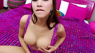 Tight Ts Emmy A In A Solo Masturbation