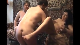 Milf Wife In A Real Threesome