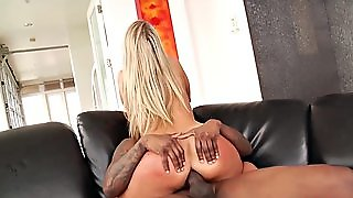 Blonde Gets Bbc In Ass