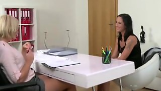 Brunette In Casting By Female Agent