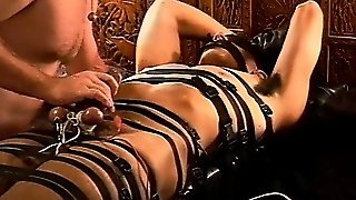 Cbt Precum Streams From Electro Stim To My Hot Young