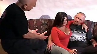 Natural Body Brunette Swinger Wife Fucks A Stranger