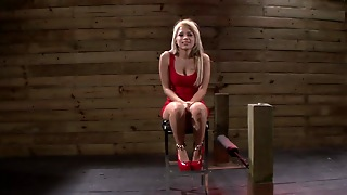 Blonde Is Ravaged In Bdsm