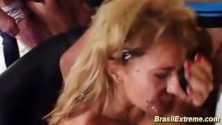 Crazy Fucking Party With Brazilians