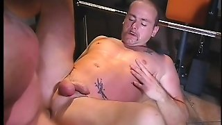 A Brutal Sodomy Session For This Pair Of Butch Muscular Studs