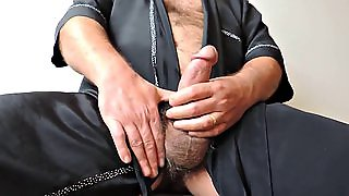 Hairy Mature Masturbating To Ejaculation