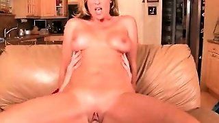 Voluptuous Milf Banged Hardcore On The Sofa