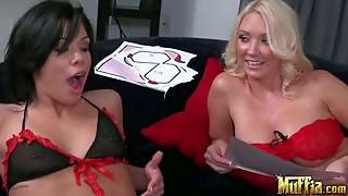Molly Cavalli And Shane Both In Sexy Black And Red
