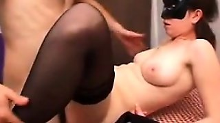 Cheating Masked Wife Fucking Cuckold