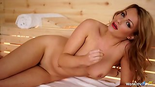 Joi Expert In The Sauna Turns You On