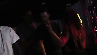 Brooke Wylde Gets Gangbanged In A Club