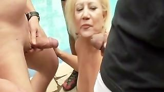 Both My Grannies Got Gangbanged - Scene 2