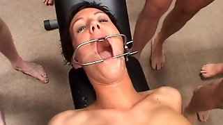 Threesome, Amateur, Anal, Facial, Swallow, Gagging, Groupsex, Gangbang, Dp, German, Party