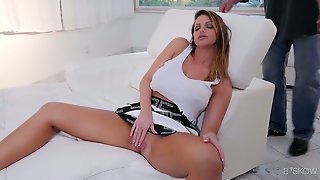 Legendary Sex With Perfectly Shaped Big Tittied Milf Brooklyn Chase