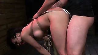 Big Titted Bdsm Bondage Fetish Babe Fuck