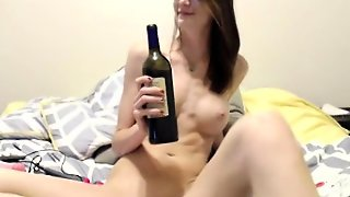 Russian Girl Masturbate On Webcam