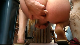 Cumshot In Balcony