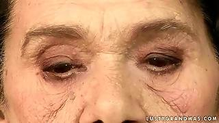 Very Old Granny Gets Fucked By A Boy