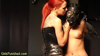 Toyed Bdsm Sub Whipped