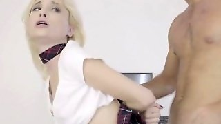 Piper Perri Is A Naughty Schoolgirl That Needs To Be