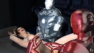 Iron Man Tag Team - Amazing 3D Hentai Adult World
