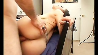 Ebony Dumped With Huge Creampie
