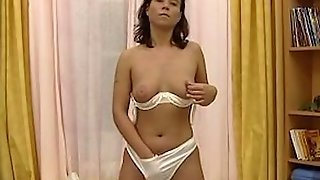 Young Vintage German Dilettant Masturbate
