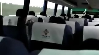 Masturbating In Bus