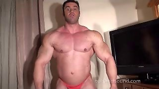 Tickling World Champ Bodybuilder