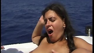 Facial, Shaved, Orgy, Brunette, Cumshots, Straight Sex, European, German