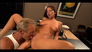 Great Tits Shaved Pussy