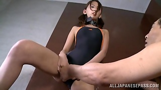 Japanese Babe Has An Orgasm During A Rough Fuck Session