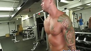 Lovely Muscular Jocks Oral Session