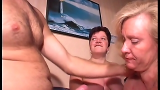 Blonde With Big Tits Watrches As Couple Fuck