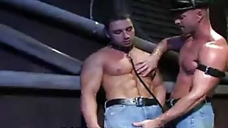 Muscled Hunks Ass Fucked