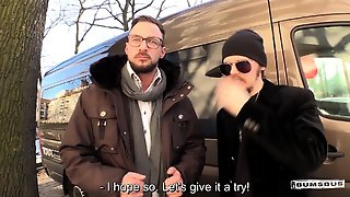 Bums Bus - Valentines Day Bus Fuck With Wild German Babe