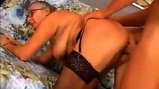 Granny Loves Anal Sex