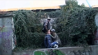 Young Couple Fucking In Public