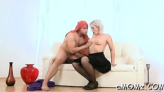 Cock Loving Mom Gets Her Butthole Rammed And Creampied