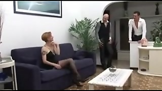 Hot Milf Threesome With Double Penetration Action