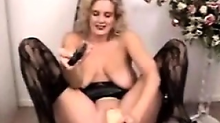 Whore With A Thick Dildo And Fisting
